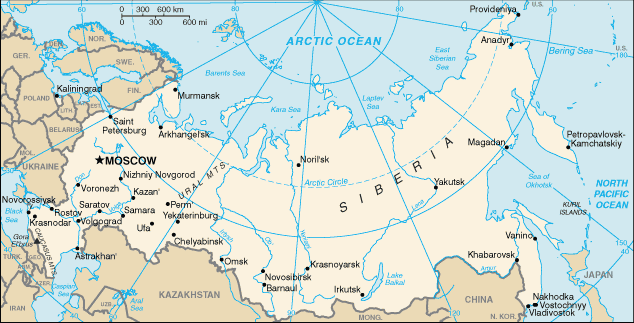 Russia officially known as the russian federation